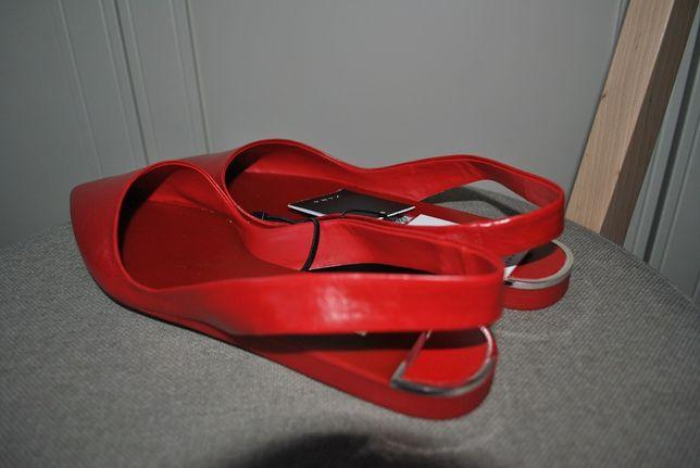 buty ZARA r. 38 skóra nowe