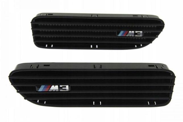 Wloty boczne błotników BMW E46 M3 CZARNE BLACK