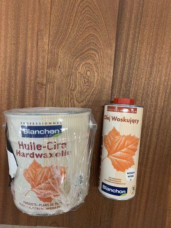 Olej woskujący Blanchon 1l i 2,5 l