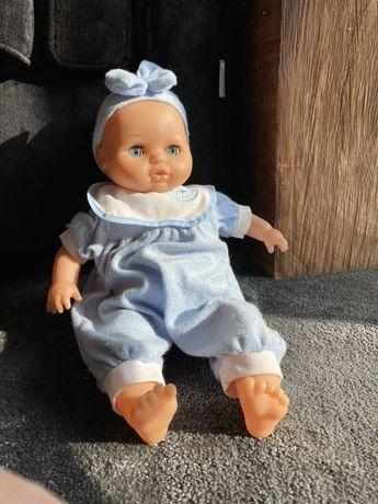 Dziecko zabawka maluszek ruchome oczka miekka tylko twarde ręce