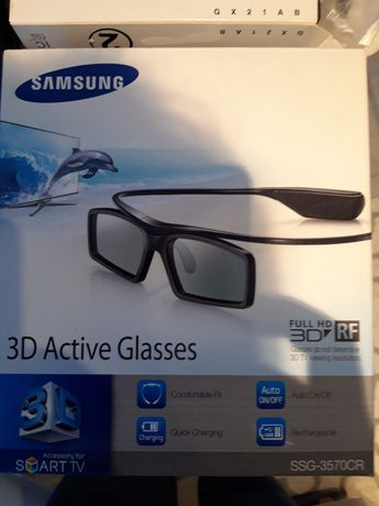 4Szt Okulary 3D active samsung