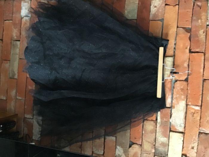 Spódnica tiulowa czarna warstwowa brokat Celebration by Mohito r.38 Brzeg - image 1
