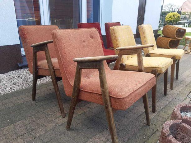 krzesla fotele prl meblart cepelia