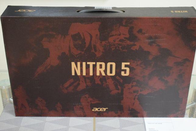"""NOWY Acer Nitro 5 17"""" i7-9750H/8GB/512/W10 GTX1660Ti IPS 144Hz Gw24"""