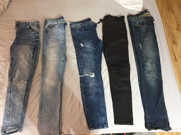 Spodnie dżinsowe l/xl