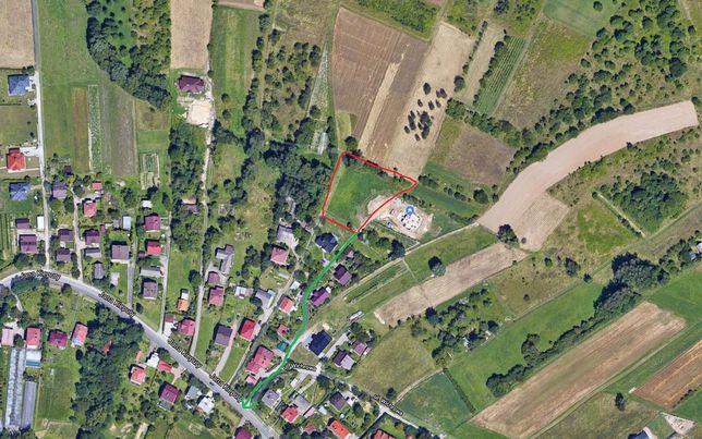 Atrakcyjna działka, spokojna okolica z widokiem Rzeszów Zalesie