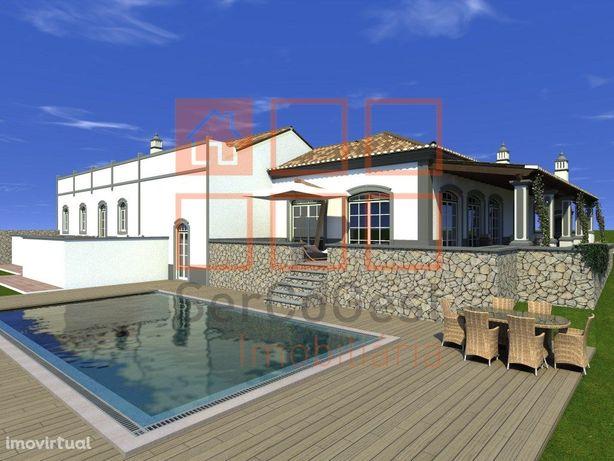 Moradia T4 com piscina para venda em Boliqueime