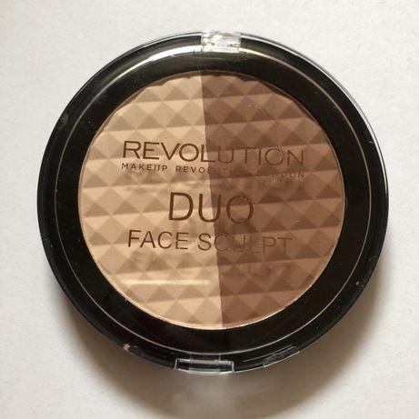 Makeup Revolution Duo face sculpt zestaw do konturowania