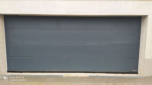 Brama garażowa antracyt hormann 5000x2250