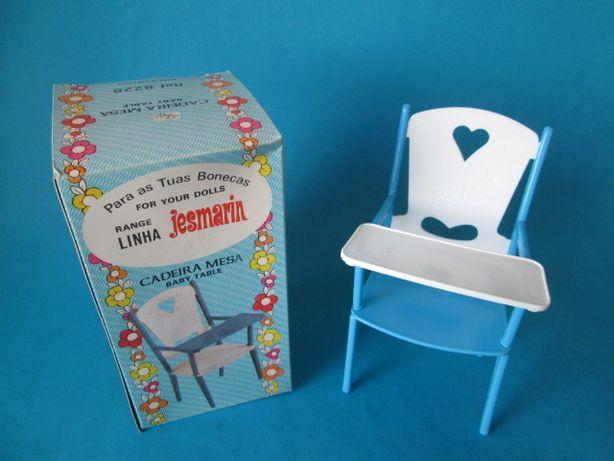 Cadeira para boneco Jesmarin ou outro da Jesmar Anos 80 Novo