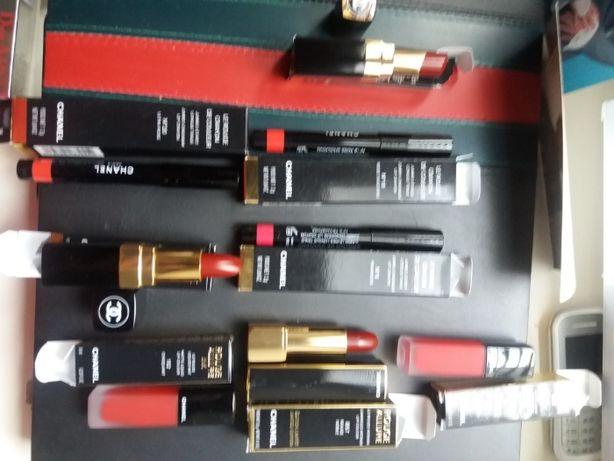 Помады Chanel, Armani, Dior, Kilian