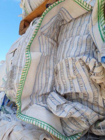 Wentylowane big bag bagi worki raszlowe 91c91x162 cm