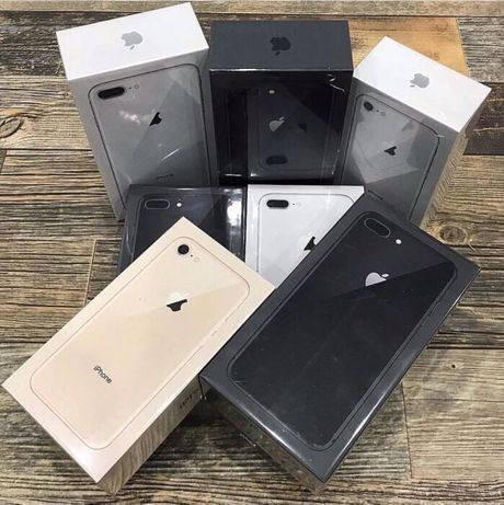NEW iPhone 8 + plus 64gb 256Gb ЛЬВІВ• Black Red Gold Silver