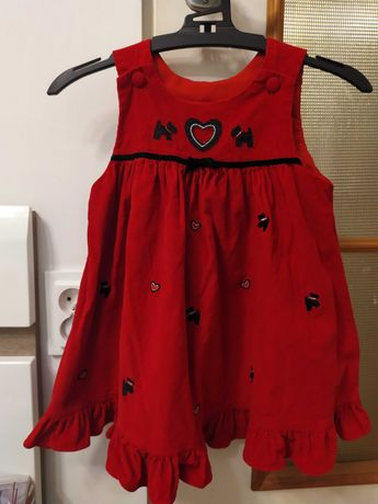 Sukienka dla dziewczynki r.92