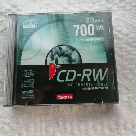 Auchan - 5 CD-RW 700 MB