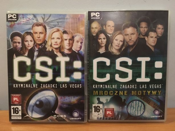 CSI: Kryminalne Zagadki Las Vegas / Mroczne Motywy - 2xGry PC Ubisoft
