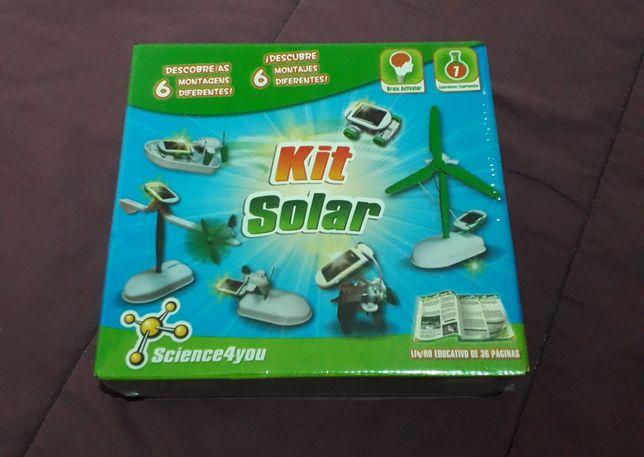 Science 4 you - NOVO! Kit Solar