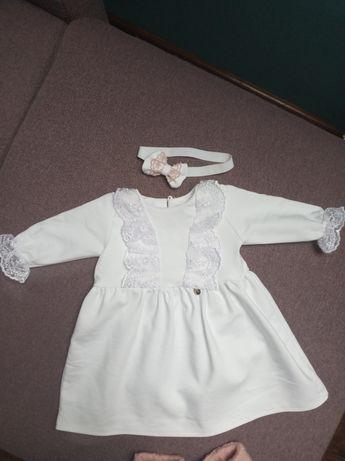 Sukienka do Chrztu Świętego, rozmiar 62
