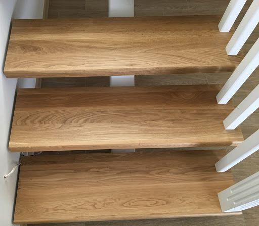 Лестница деревянная, ступень, подступенок, щит мебельный