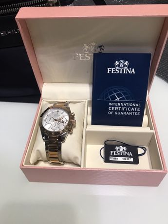 Zegarek Festina 50% ceny. Prezent