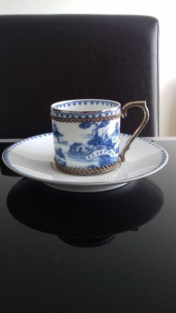 Chávena azul companhia das Índias