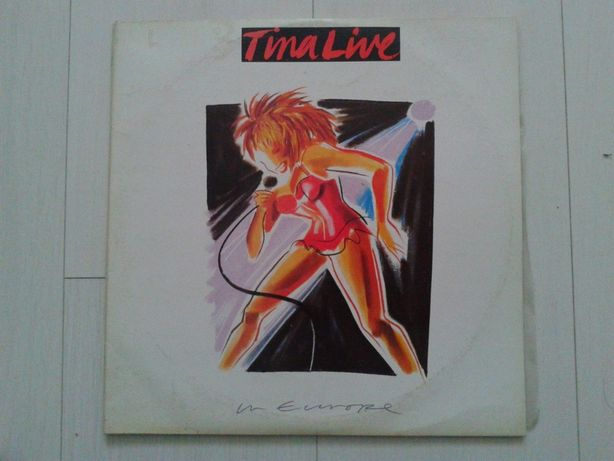 vinyl - Tina Turner - Tina Live 3vinyl