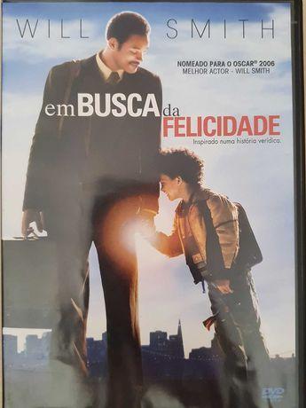 DVD - Em Busca da Felicidade com Will Smith