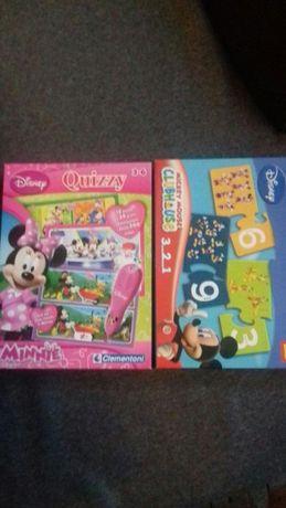 Układanka dydaktyczna trefl quizy minnie clementoni Disney MickeyMouse