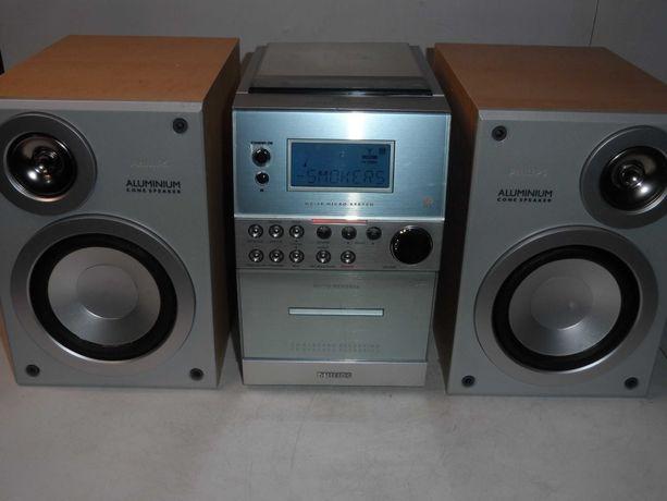 Mini Wieża PHILIPS Cd Audio Fm/Am Aux RDS Ładnie Gra