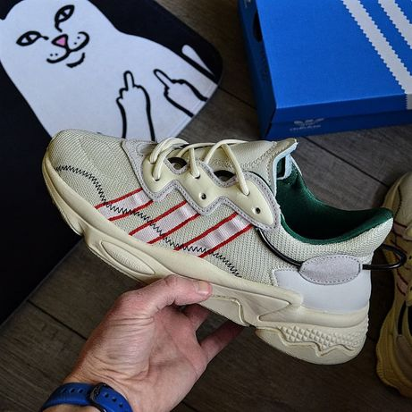 Чоловічі кросовки Pusha T x adidas Ozweego 'Crystal White'