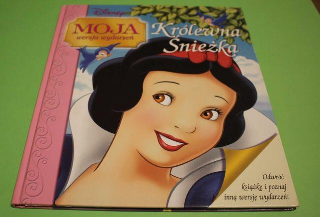 Królewna Śnieżka - Królowa - Moja wersja wydarzeń książka dla dzieci