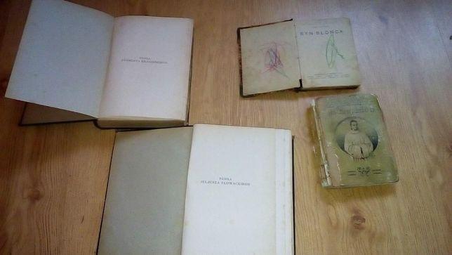 stare przedwojenne  książki o różnej tematyce Przedwojenne poezje itp