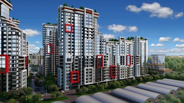 ЖК Таировские Сады. 3-комнатная квартира. 89 м2. Киевский район.
