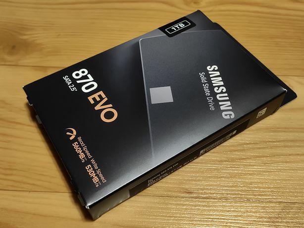 "SSD Samsung 870 EVO 1TB 2.5"" SATA III / Новый"