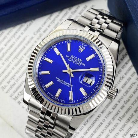 Zegarek Rolex Datejust AAA Silver-Blue