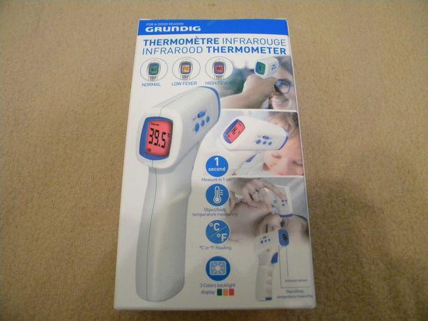 Termometr Bezdotykowy GRUNDIG temperatura ciała i obiektów NOWY !!