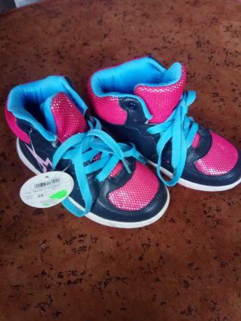 Buty sportowe dziewczęce r. 28