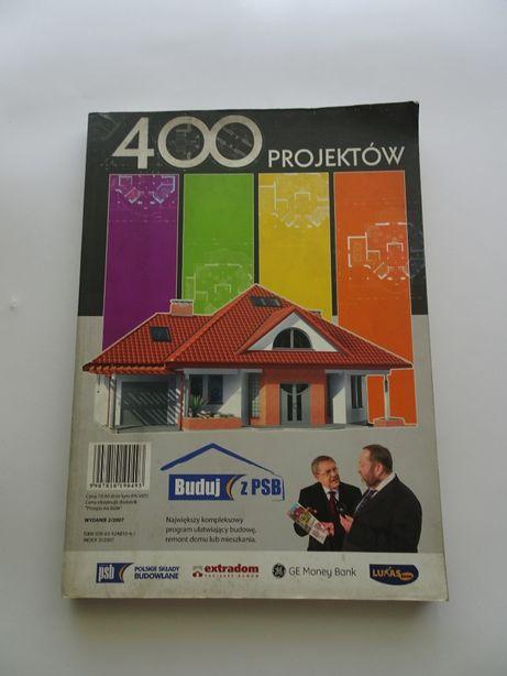 Katalog 400 projektów domów.