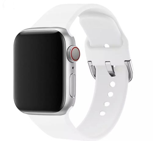 Bracelete Silicone branca Apple Watch 42 44mm