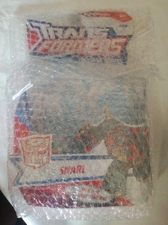 Transformers animated slag coberto pelo plástico de bolhas