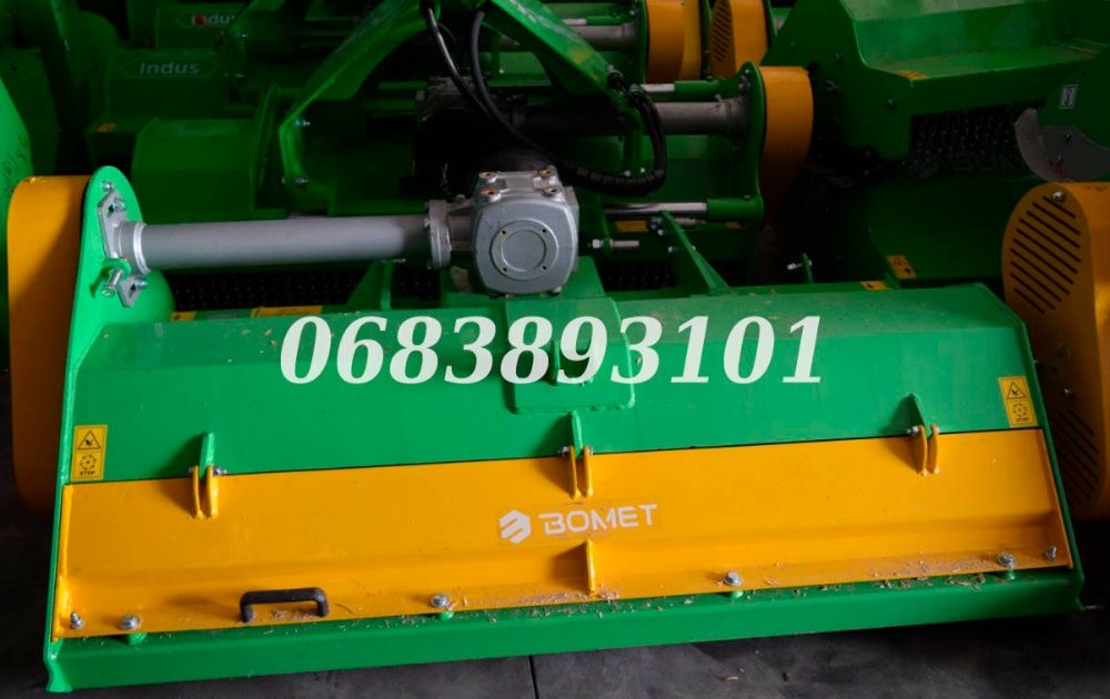 Польський Bomet Фреза на трактор грунтофреза почвофреза 2 м з карданом Житомир - изображение 1