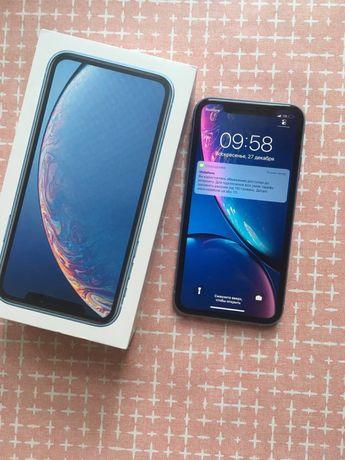Iphone xr 128гб голубой r-sim