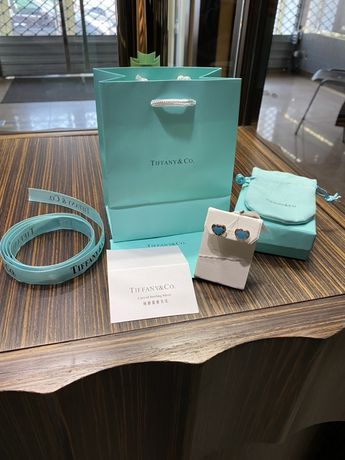 Серьги Tiffany & Co Тиффани Серебро 925 мешочек в подарочек