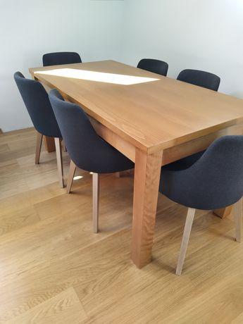 Stół drewniany, rozkladany