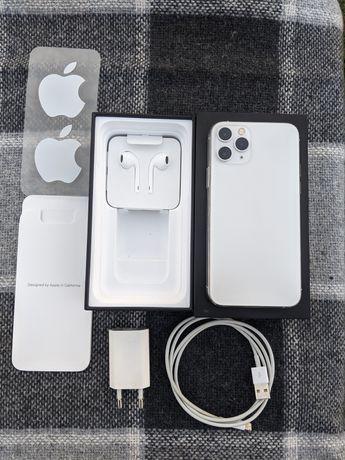 Iphone 11 pro 64gb Silver Neverlock+новые чехлы