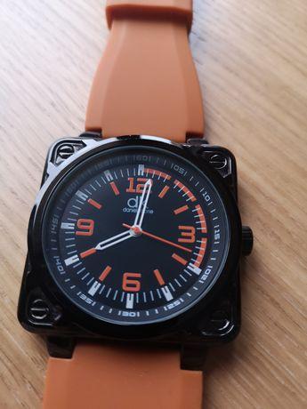 Zegarek pomarańczowy pasek super stan! Daniel khone