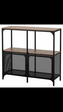 Estante Fjällbo IKEA preta