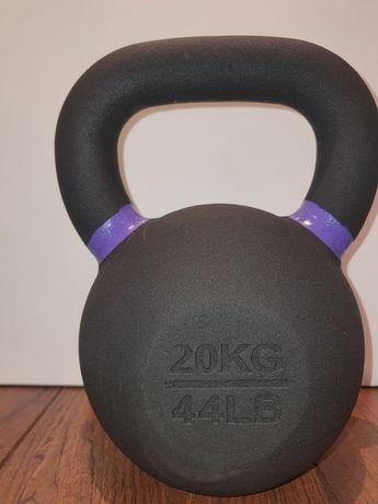 Kettlebell żeliwny 20 kg nowy