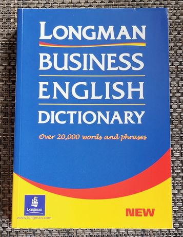 Longman Business English Dictionary Over 20000 words and phrases nowa