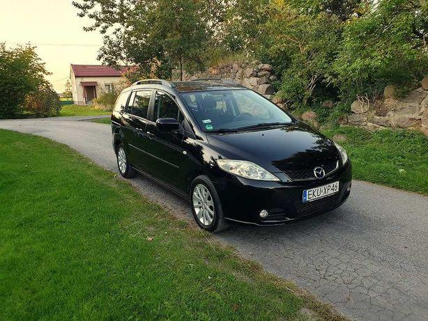Mazda 5 2005 rok 1.8 116 km zarejestrowana stan bdb klima